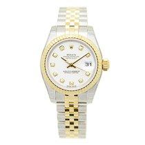 勞力士 (Rolex) Lady Datejust Gold And Steel White Automatic...
