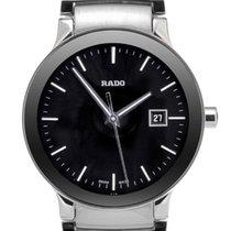 Rado Centrix Quartz Full Steel-Black Dial 28mm 0111109283015