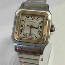 Cartier Santos - Galbee - Stahl/Gold - Grande - XL