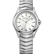 Ebel Wave Lady Steel Case and Bracelet, Silver Dial