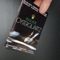 Rolex 1x Oysterquartz Booklet very rare Heft Broschüre