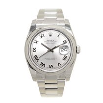 Rolex Datejust Stainless Steel Silver Automatic 116200SVRN