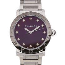 Bulgari Bvlgari 33 Gemstone Purple Dial