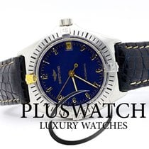 Breitling Callisto Steel Gold Automatic Vintage Blue Dial 2911