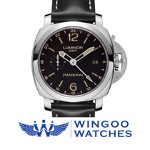 Panerai LUMINOR 1950 3 DAYS GMT 24H AUTOMATIC ACCIAIO - 44MM...