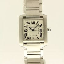 까르띠에 (Cartier) Tank Francaise LM from '05 B + P NEW...