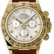 Rolex Cosmograph Daytona 116518 116518-MOPABR White Arabic 18k...
