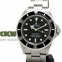 Rolex Submariner No Date Four Liner Rehaut G-Serie