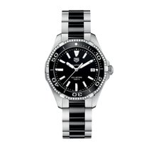 TAG Heuer Aquaracer Lady Black Dial Diamonds Data WAY131GBA0913
