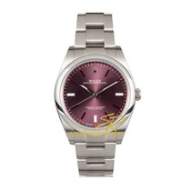 Rolex Oyster Perpetual Red Grape 39mm