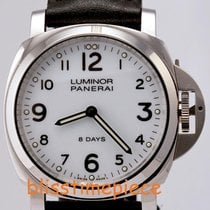 Panerai Luminor Base 8 Days Acciaio Mechanical White