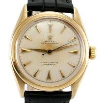 Rolex 6084 Oyster Perpetual Semi Bubbleback - Vintage Men's W