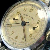 Jaeger-LeCoultre SUPER RARE 1950 Mint Chronograph Favre Leuba...