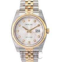 ロレックス (Rolex) Datejust Gold/Steel Silver/18k gold Ø36 mm - 116233