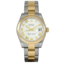 Rolex Datejust Midsize Gold/Steel 178243