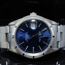 Rolex 2000 Oyster Perpetual Date, Blue Baton, MINT, Box &...