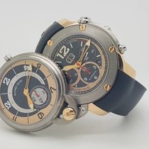 Michel Jordi Limited Edition Twins Titan / 18K Flyack Chronograph