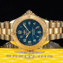 Breitling Superocean 1000M Gelbgold/18kt. LC100 Ref. K10040