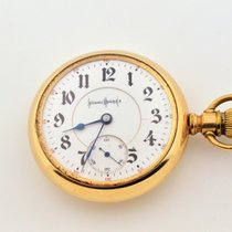 Illinois Bunn Special Gold Filled Pocket Watch 18s 24 Jewels