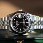 Rolex Datejust Black Index