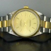 Rolex No date 36 mm steel and gold