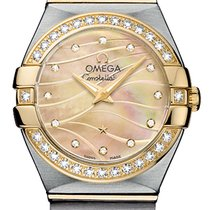 Omega Constellation Brushed 24mm 123.25.24.60.57.001