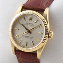 Rolex OYSTER PERPETUAL 18K GOLD MEDIUM MID SIZE