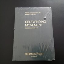 Audemars Piguet Owner's manual for caliber 3120 sealed