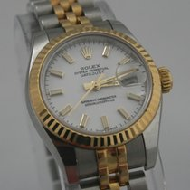 Rolex Oyster Perpetual DATEJUST Lady Stahl-Gold Automatik...