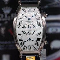 까르띠에 (Cartier) Tonneau Collection Privee 18k White Gold Dual...