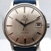 Omega vintage 1969 GENEVE date auto steel ref 166.070 cal 565