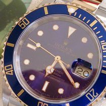 Rolex Submariner ST GG REF 16613 + WIE NEU+ BOX U PAPIERE+REVI+GA