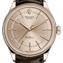 Rolex Cellini Time 50505-0012 Pink Index Rose Gold &...