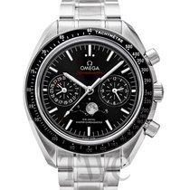 오메가 (Omega) Speedmaster Moonwatch Moonphase Chronograph Black...