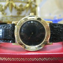 Bulgari 18k Yellow Gold Bb 30 Gl 30mm Ladies Quartz Watch