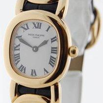 Patek Philippe 4830 Ellipse 18K Yellow Gold Womens Wrist Watch...
