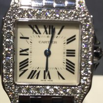 Cartier Santos Demoiselle Diamonds Bezel Original