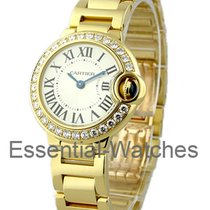 Cartier WE9001Z3 Ballon Bleu Small Size in Yellow Gold with...