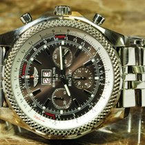 Breitling Bentley 6.75 in Solid 18k White Gold