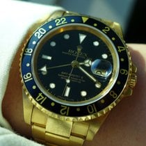 Rolex GMT Master II Yellow Gold 16718