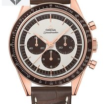 Omega - Speedmaster Moonwatch Numbered Edition 18k Sedna G -...