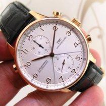 IWC 3712 Portuguese Chronograph Rattrapante Split Second 18K...