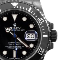 "Rolex PVD/DLC 40mm Ceramic Submariner ""Blue"" Second..."
