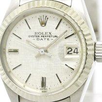 ロレックス (Rolex) Vintage Rolex Oyster Perpetual Date 6917 White...
