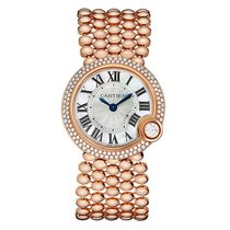 Cartier Ballon Blanc Rose Gold & Diamond Watch
