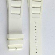 Richard Mille 10M White Rubber Strap