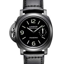 Panerai PAM00026 Luminor Marina Left Hand in PVD Black Steel -...