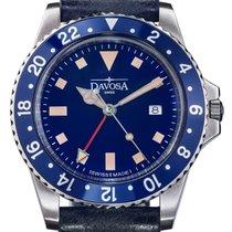Davosa Swiss Quartz Vintage Diver 16250045 Men Wrist Watch...