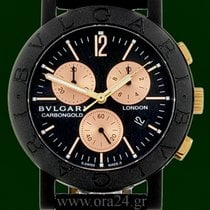 Bulgari CarbonGold 38mm Chronograph London Limited Edition...