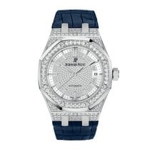 Audemars Piguet Royal Oak 37mm White Gold Diamond set